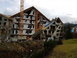 pomocné tesárske práce na Hoteli Pošta v Jasnej --11-2016