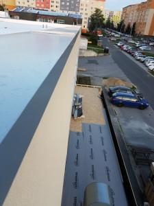 Zateplenie strechy OC Poprad